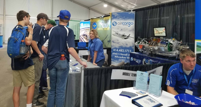 Air Cargo Carriers at the EAA Event in Oshkosh