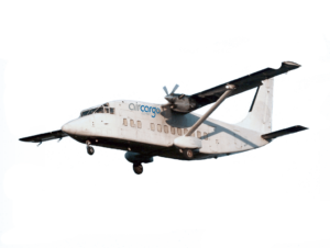 turbo prop captain flying for air cargo carriers